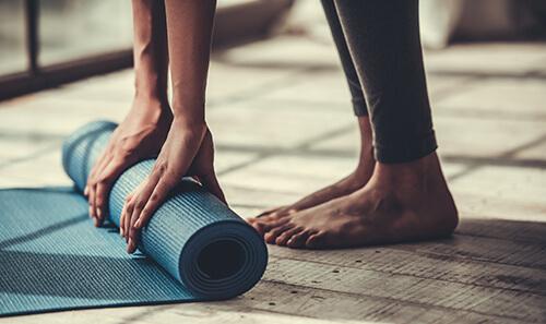 essential oils for yoga practice