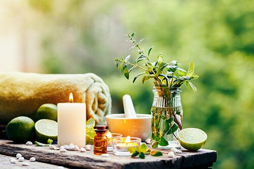 peppermint massage oil